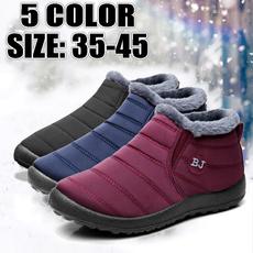 non-slip, winterbootsforwomen, Fashion, Cotton