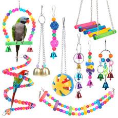 birdball, Toy, Parrot, Bell