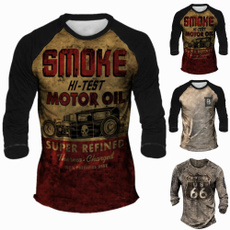 Graphic T-Shirt, Sleeve, Fitness, Long Sleeve