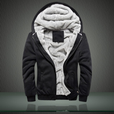 casual coat, Thicken, hooded, Winter