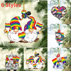 christmasaccessorie, rainbow, partypendant, Christmas