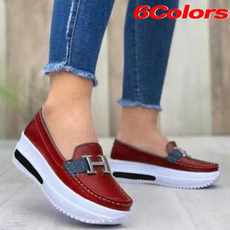 casual shoes, wedge, Head, Plus Size
