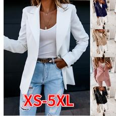 casual coat, Casual Jackets, fashion women, Plus Size