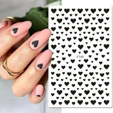 Adhesives, nail stickers, art, Beauty