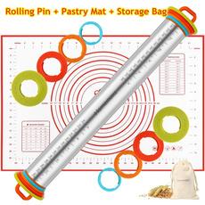 rollingpinsbaking, nonstickbakingsheet, Baking, siliconebakingmat