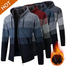Jacket, cardigan, velvet, Winter