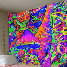 trippytapestry, art, foresttapestry, Wall Art