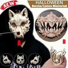 Cosplay, skull, halloweengift, werewolf