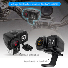 motorcycleaccessorie, led, usb, usbcarcharger