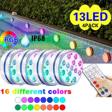 colorchanging, Swimming, led, Remote