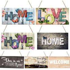 decoration, woodenplaque, Plaques & Signs, hangingplaque