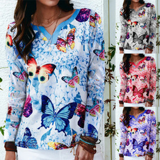 butterflyprint, butterfly, Plus Size, Graphic T-Shirt