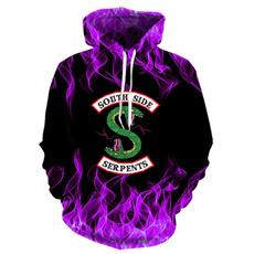 3D hoodies, Fashion, drawstringhoodie, Sleeve