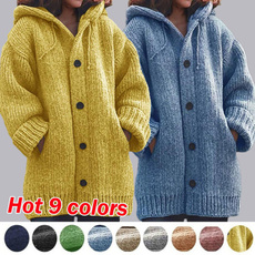 knitted, Plus Size, Winter, winter coat