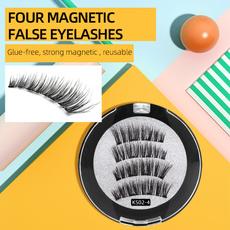 False Eyelashes, eyelash extensions, magneticfalseeyelashe, Makeup Tools & Accessories