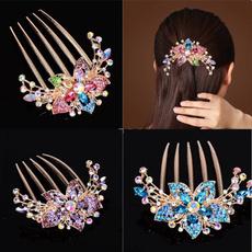 DIAMOND, headdress, haircareandstyling, diamondinsertcombhair