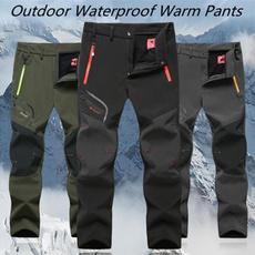Fleece, Outdoor, Winter, Casual pants