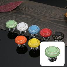 Ceramic, cabinetpull, smoothcabinetknob, singleholedrawerhandle