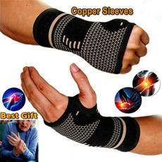 Copper, Sport, Elastic, Sleeve
