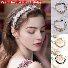 partyheadband, Fashion, pearls, headwear