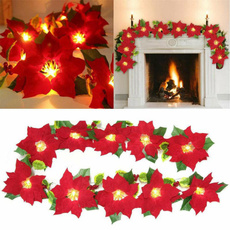 Decor, Flowers, led, Christmas