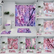 tapeteparasala, pink, Bathroom, Flowers