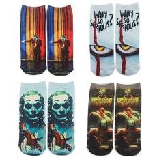 Sport, Socks, clown, ankleshortsock