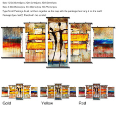 abstractframedoilpainting, Home & Kitchen, modern abstract oil painting, Home Decor