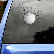 trymybest, Golf, Cars, Stickers