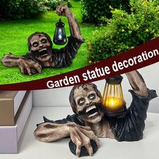 Zombies, Decor, led, Garden