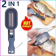 Steel, scalesfish, fish, fishcleaning