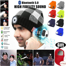 Warm Hat, sports cap, knittedcap, led