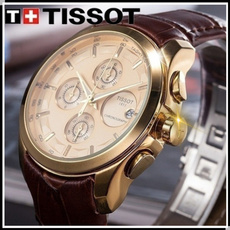 Gifts, leather strap, leather, wristwatch