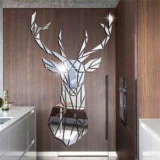 Home & Kitchen, Head, Mirrors, wallmuralsticker