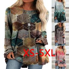 Plus Size, printed shirts, Women's Fashion, Fashion