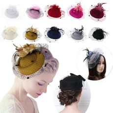 featherhaircliphat, for women, Fashion, Hats