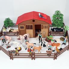 Mini, modelfarmset, Toy, farmlayout