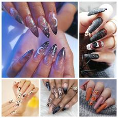 acrylic nails, nail tips, punk, Beauty