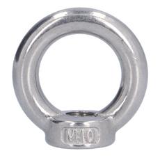 Steel, magneticball, threadedliftingnut, eye