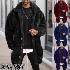 plushcoatformen, men coat, Plus Size, fur