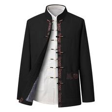Jacket, Fashion, tangshirtformen, kungfushirt