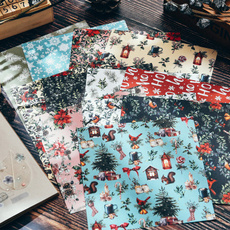 albumpaper, Scrapbooking, Christmas, handmadepaper