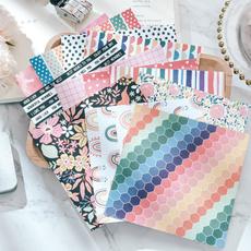 albumpaper, Scrapbooking, handmadepaper, paperpad