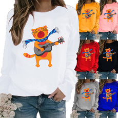 Printed T Shirts, Tops & Blouses, Graphic T-Shirt, Sleeve