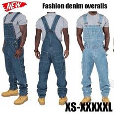 men's jeans, Plus Size, Denim, Overalls
