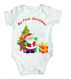 babyboystuff, Vest, Toddler, Christmas