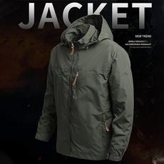 Outdoor, Hiking, Waterproof, militaryjacket