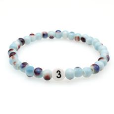 Charm Bracelet, Beaded Bracelets, Fashion, elasticthread