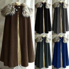 fur coat, Goth, Fashion, Medieval