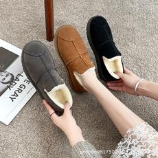 ankle boots, Flats, cottonpaddedshoe, Womens Shoes